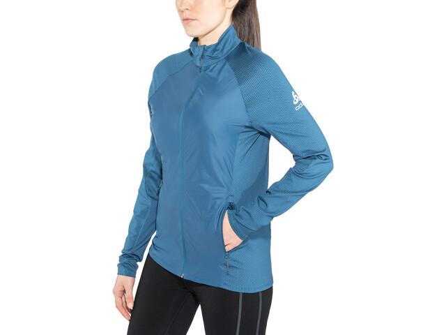 Odlo Velocity Element Light Jacket Women poseidon-blue jewel